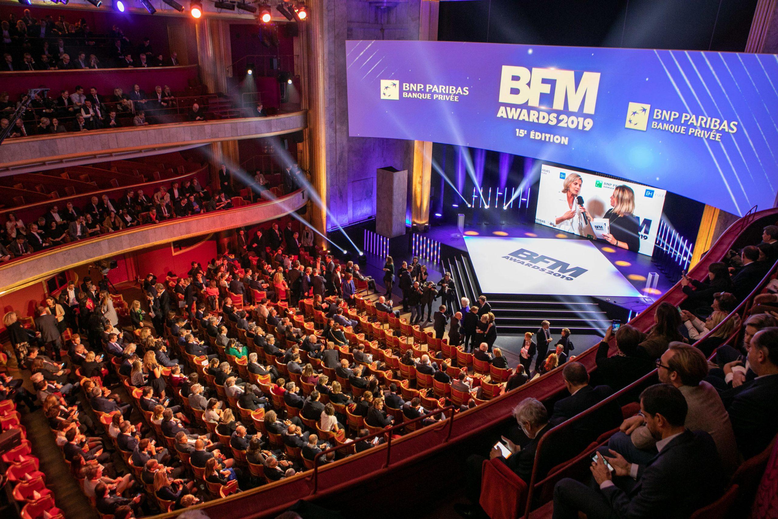 Reportage photo sur les plateaux TV de BFM BUSINESS