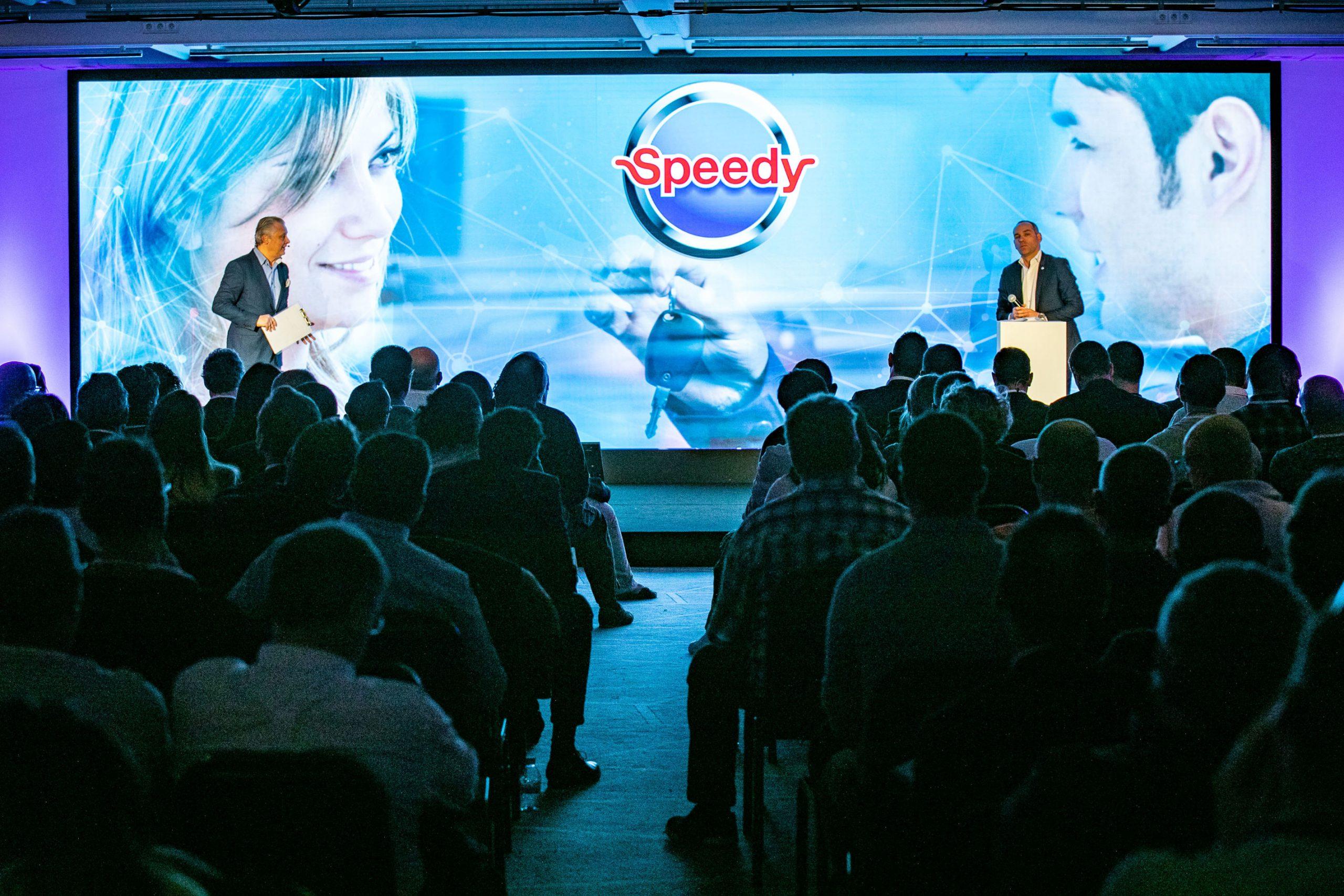 Reportage evenementiel seminaire Speedy