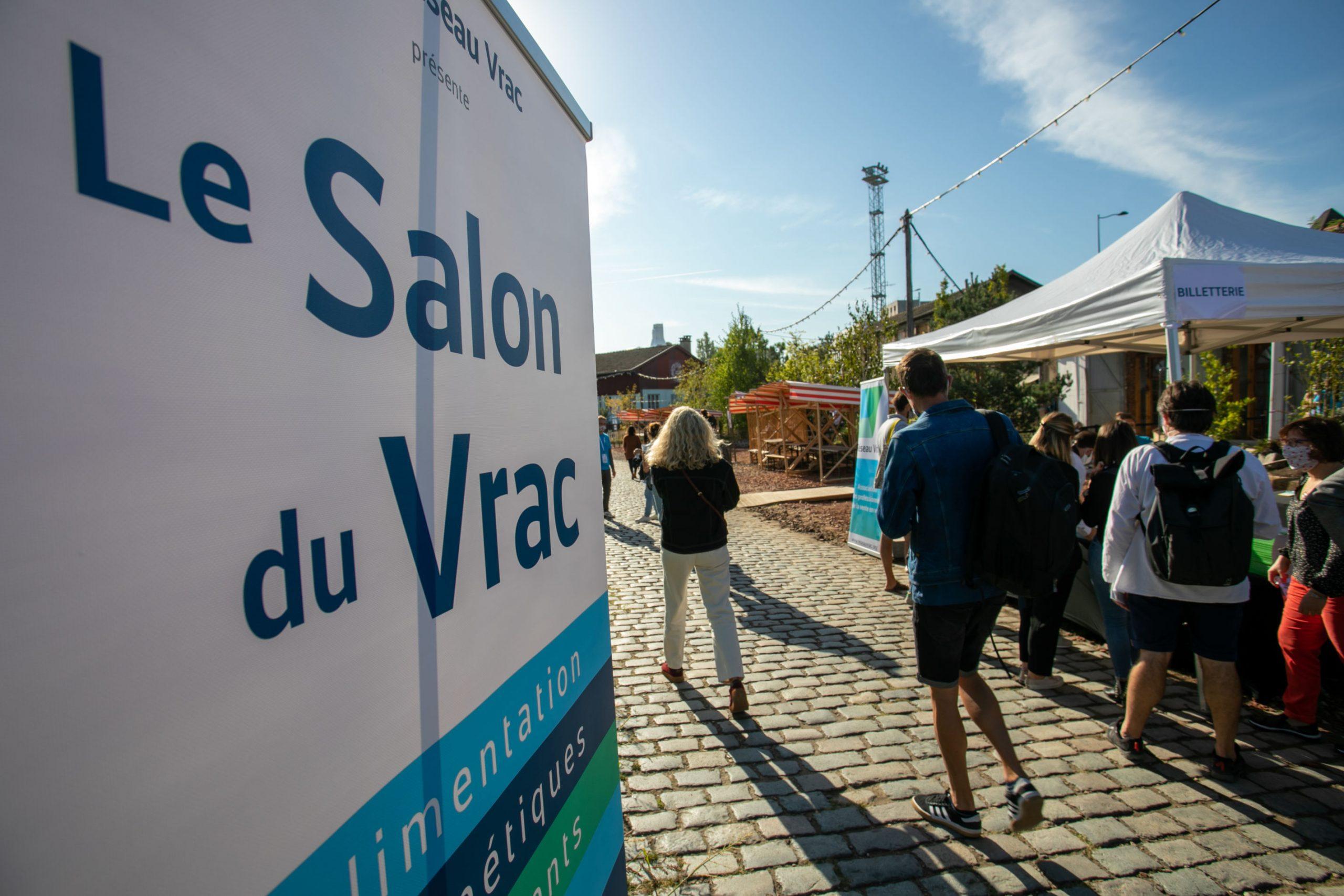 Reportage photo evenementiel Salon du vrac